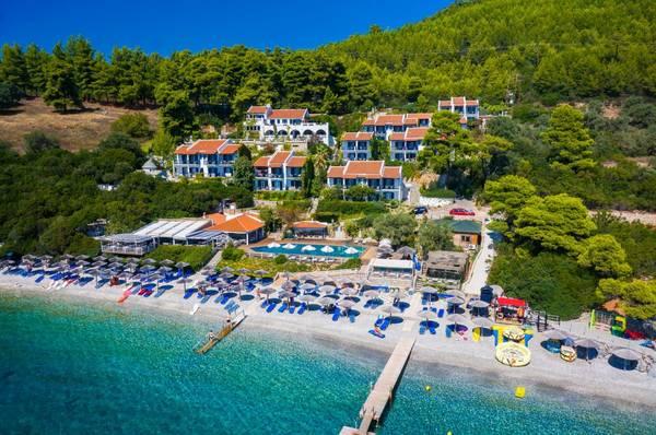 Adrina Beach Hotel a Skopelos sul mare.