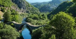 Ecoturismo in Grecia, regione di Zagoria.
