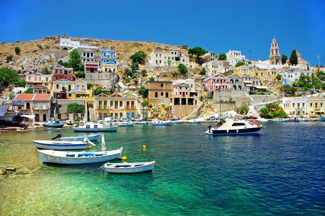 Le isole greche.