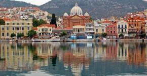 Isola di Lesbo in Grecia.