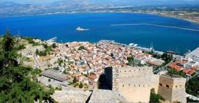 Nafplio in Peloponneso, Grecia.