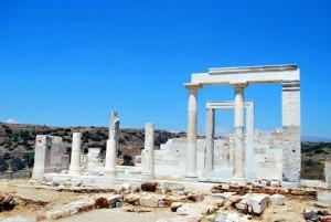 Tempio di Demetra a Naxos.