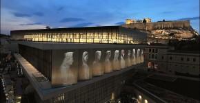 Nuovo museo Acropoli di Atene.