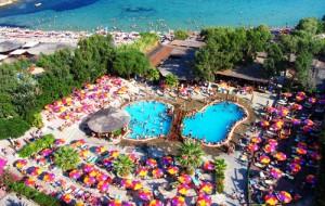 Pounda beach a Paros.