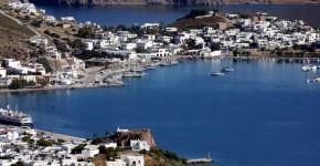 Patmos in Grecia.