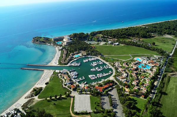 Hotel Resort Porto Sani, Calcidica.