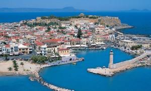 Rethymno a Creta.
