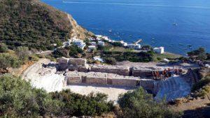Il teatro romano di Milos.