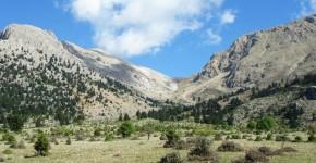 Il monte Ziria in Grecia.