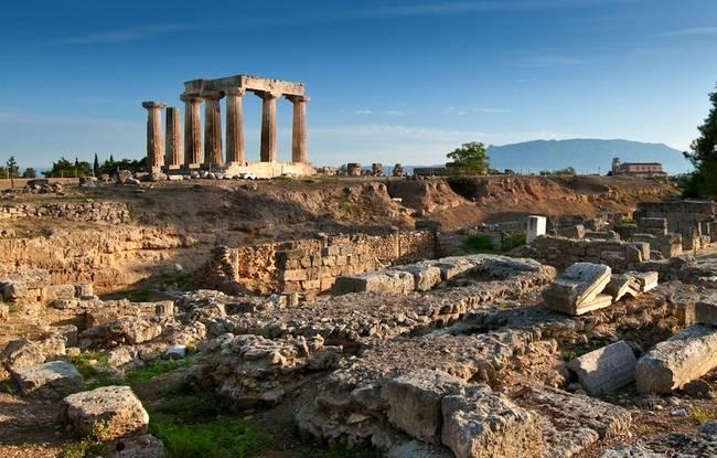 Sito archeologico della Corinto antica.
