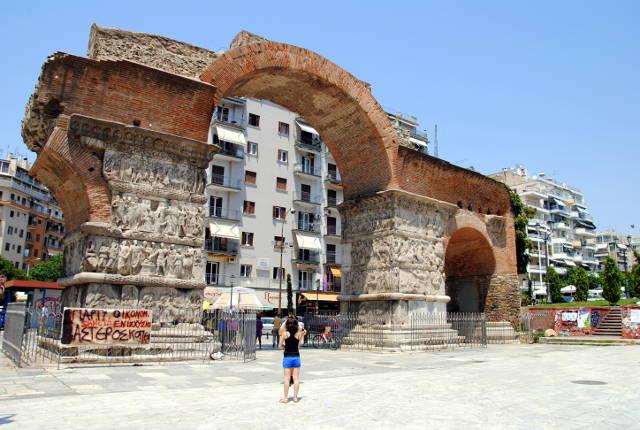 Arco di Galerio, da vedere a Salonicco.