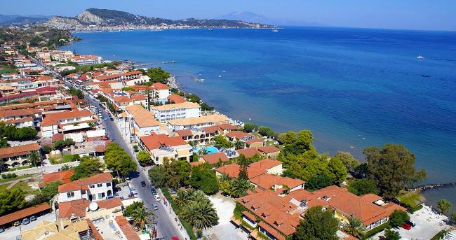 Argassi a Zante, in Grecia.