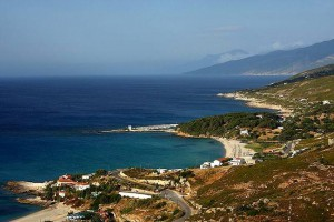 Spiagge di Ikaria, Grecia.