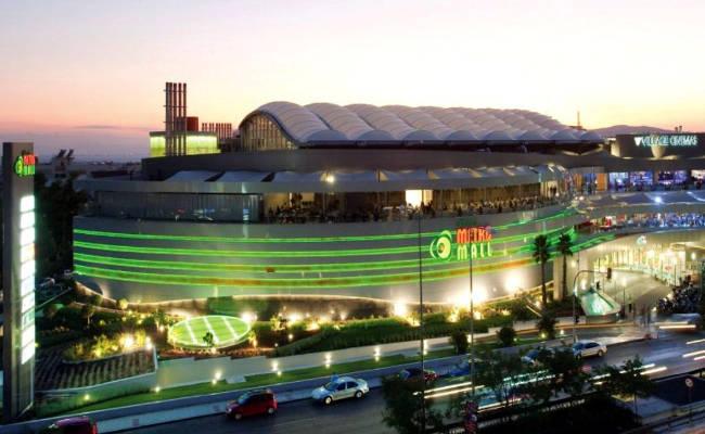 Il centro commerciale Athens Metro Mall.
