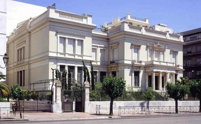 Il museo Benaki di Atene.