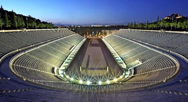 La stadio Panathinaiko di Atene, la capitale greca.