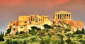 Atene antica in Grecia.