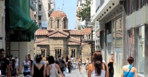 Atene Plaka Shopping.