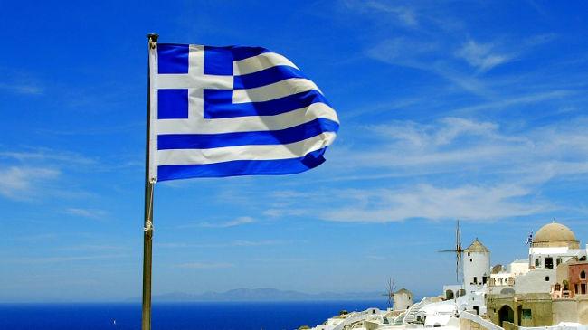 Bandiera nazionale della Grecia.