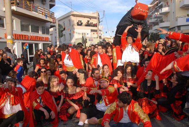 Carnevale in Grecia.