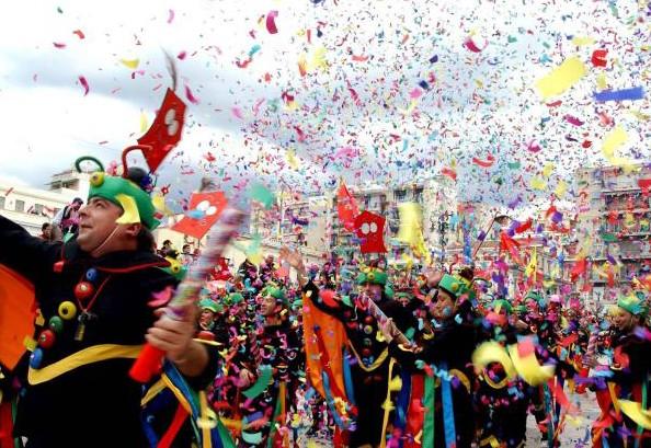 Festeggiamenti di Carnevale in Grecia.