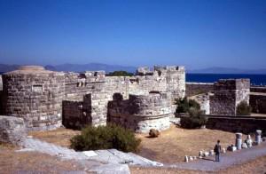 Il castello dei Cavalieri di San Giovanni sull'isola di Kos, Grecia.