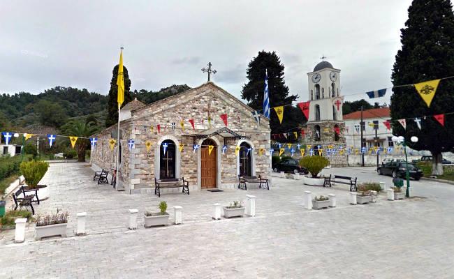 La chiesa di Agios Nikolaos, la più antica di Limenas.