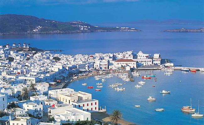 Chora Mykonos Grecia.