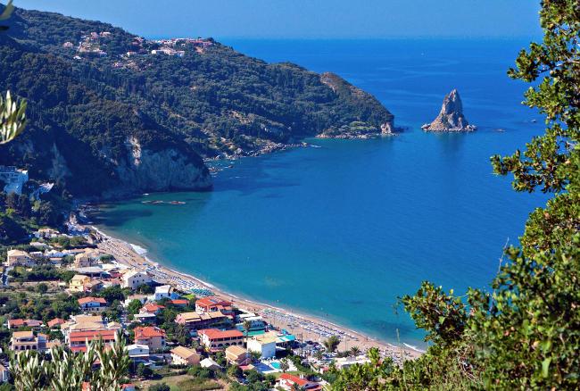 Agios Gordios, bellissimo luogo dell'isola greca di Corfù.