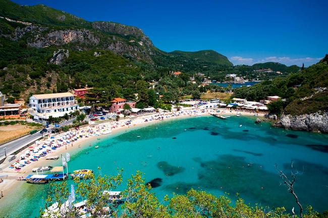 Corfu in Grecia.