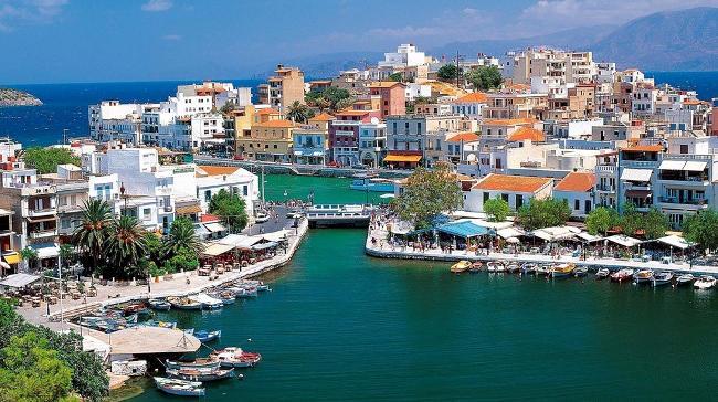 Agios Nikolaos Creta Grecia.
