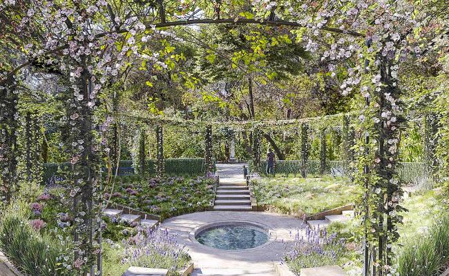 Un'immagine del Giardino Nazionale di Atene, Grecia.