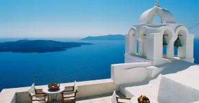 Vacanze in Grecia a Santorini.