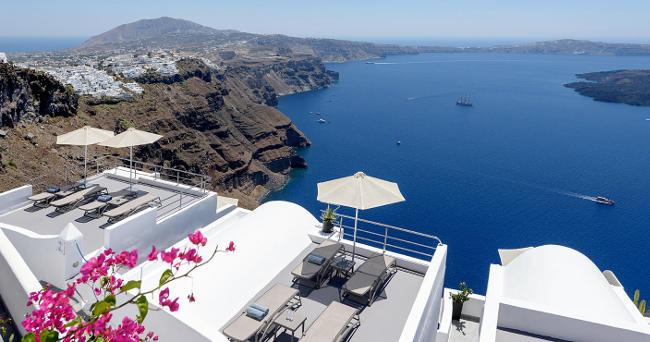Imerovigli, Santorini.