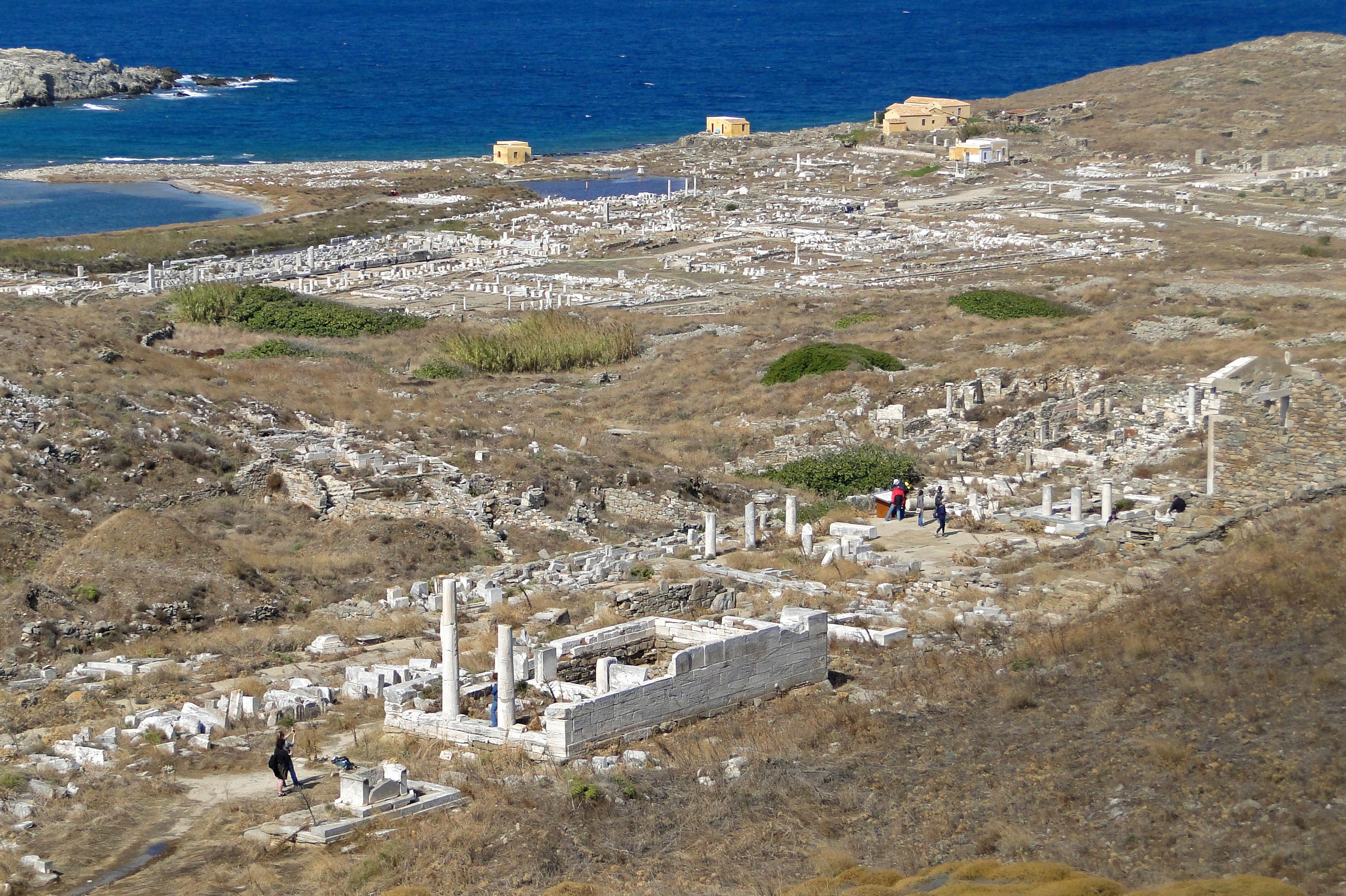 isola di Delos Mykonos.