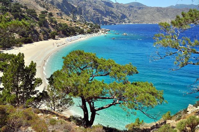 Karpathos in Grecia.