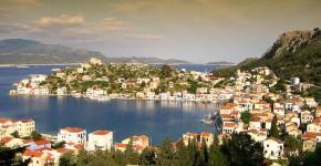 Kastelorizo in Grecia.