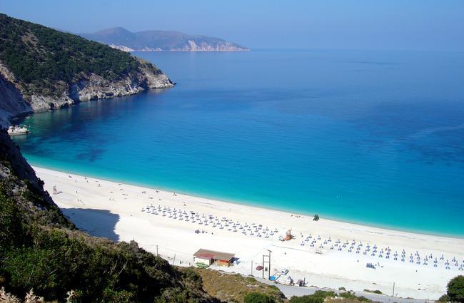 Lefkada Grecia.