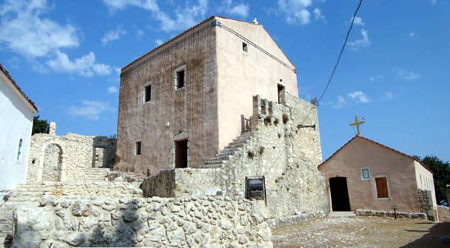 Il monastero di Panagia Atrou vicino Poros, il più antico di Cefalonia.