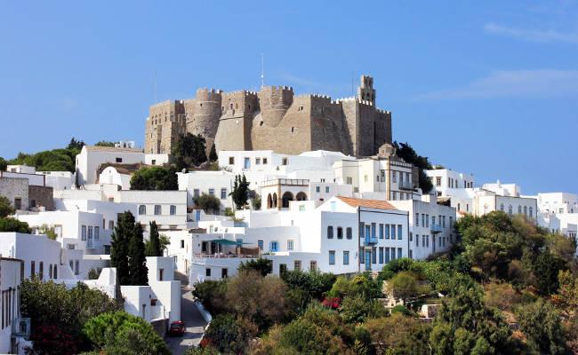 Il Monastero di San Giovanni a Patmos in Grecia.