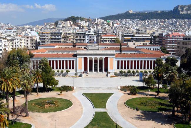 Il Museo Archeologico Nazionale della capitale greca.