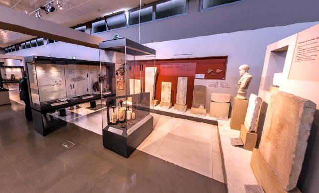Visitare il museo archeologico a Salonicco.