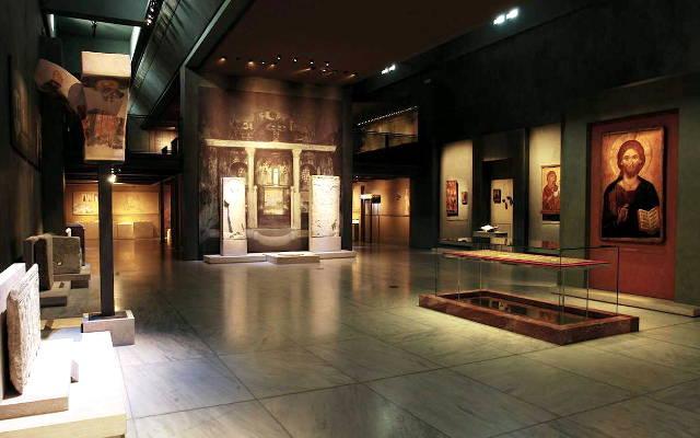 Il museo della cultura bizantina di Salonicco.