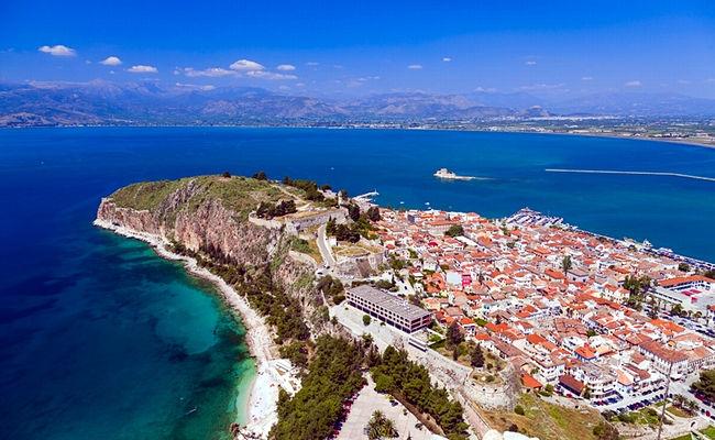 Nafplio in Grecia nel Peloponneso.