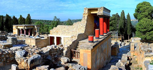Palazzo di Cnosso, Creta Grecia.