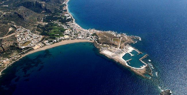 Paleochora isola di Creta, Grecia.