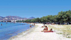 Spiaggia di Papikinou Beach a Milos.