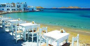 Paros in Grecia.