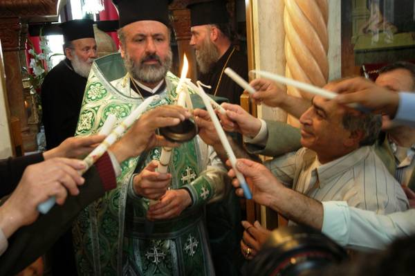 Resurrezione della Pasqua greca, Christos Anesti!