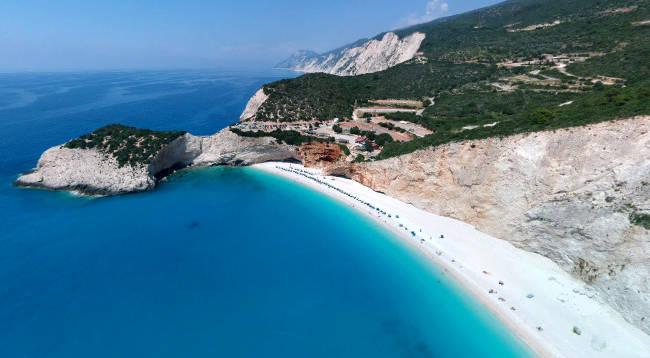 Porto Katsiki, una delle spiagge più belle di tutta la Grecia.